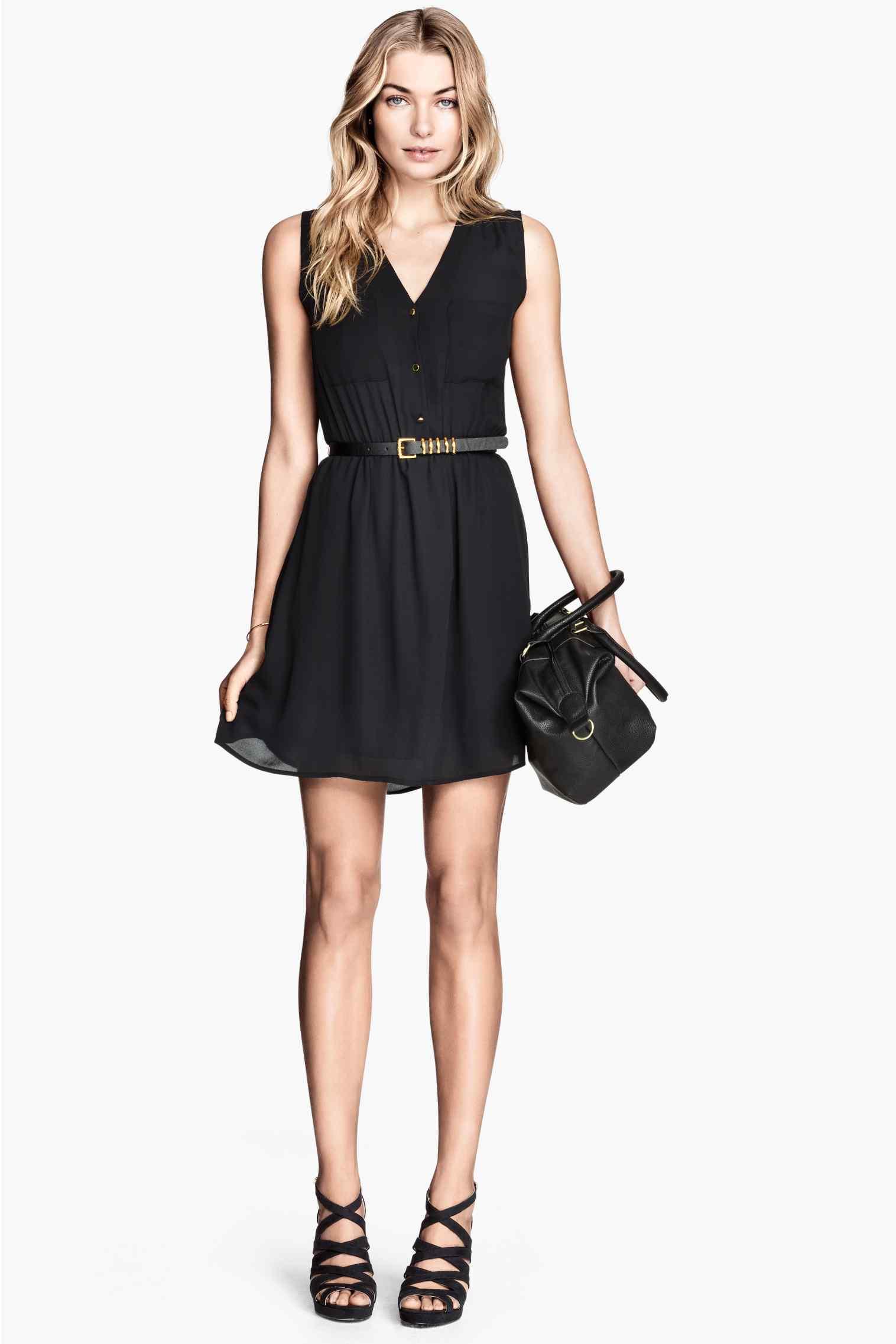 robe noire t comment vous mettre en valeur en un clin. Black Bedroom Furniture Sets. Home Design Ideas