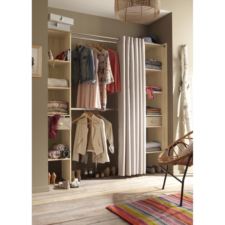 armoire dressing leroy merlin. Black Bedroom Furniture Sets. Home Design Ideas