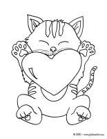dessin a imprimer de chaton