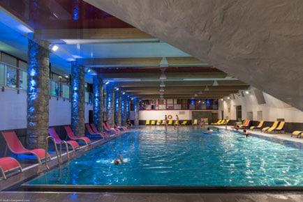 Flaine piscine for Hotel avec piscine pas cher
