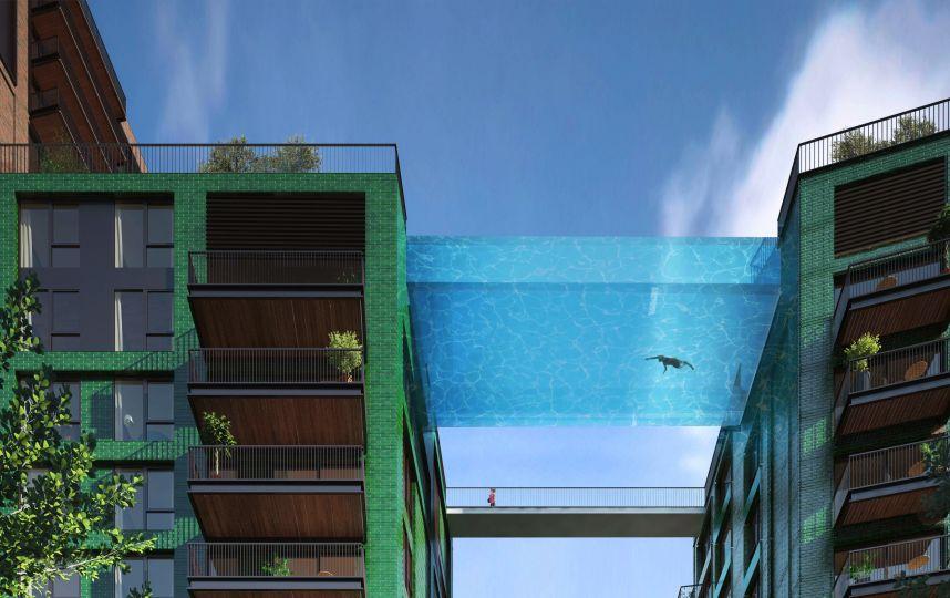 hotel piscine londres