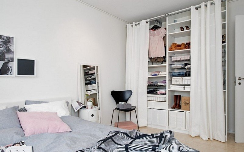 id e dressing petite chambre. Black Bedroom Furniture Sets. Home Design Ideas