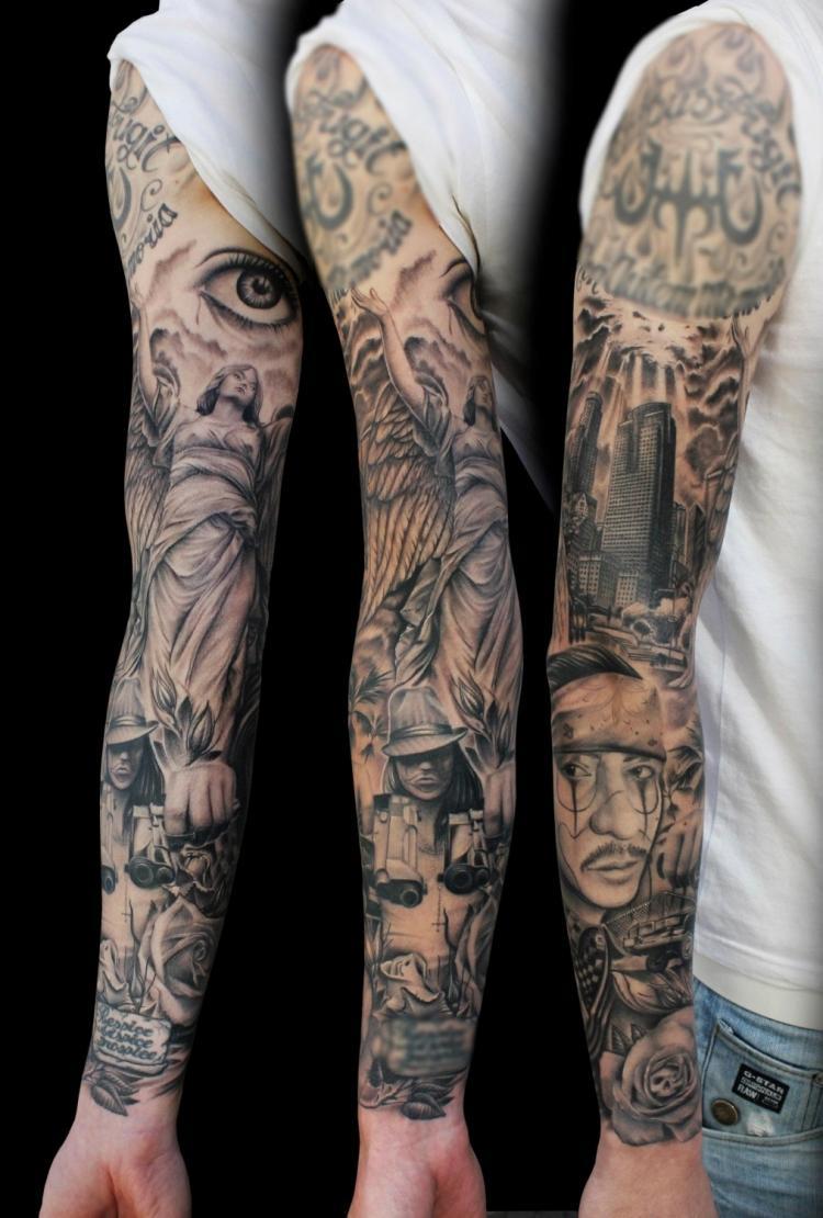 Idée De Tatouage Homme idée tatouage homme bras