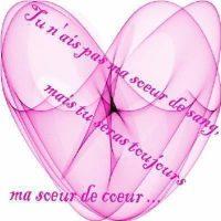 image soeur de coeur