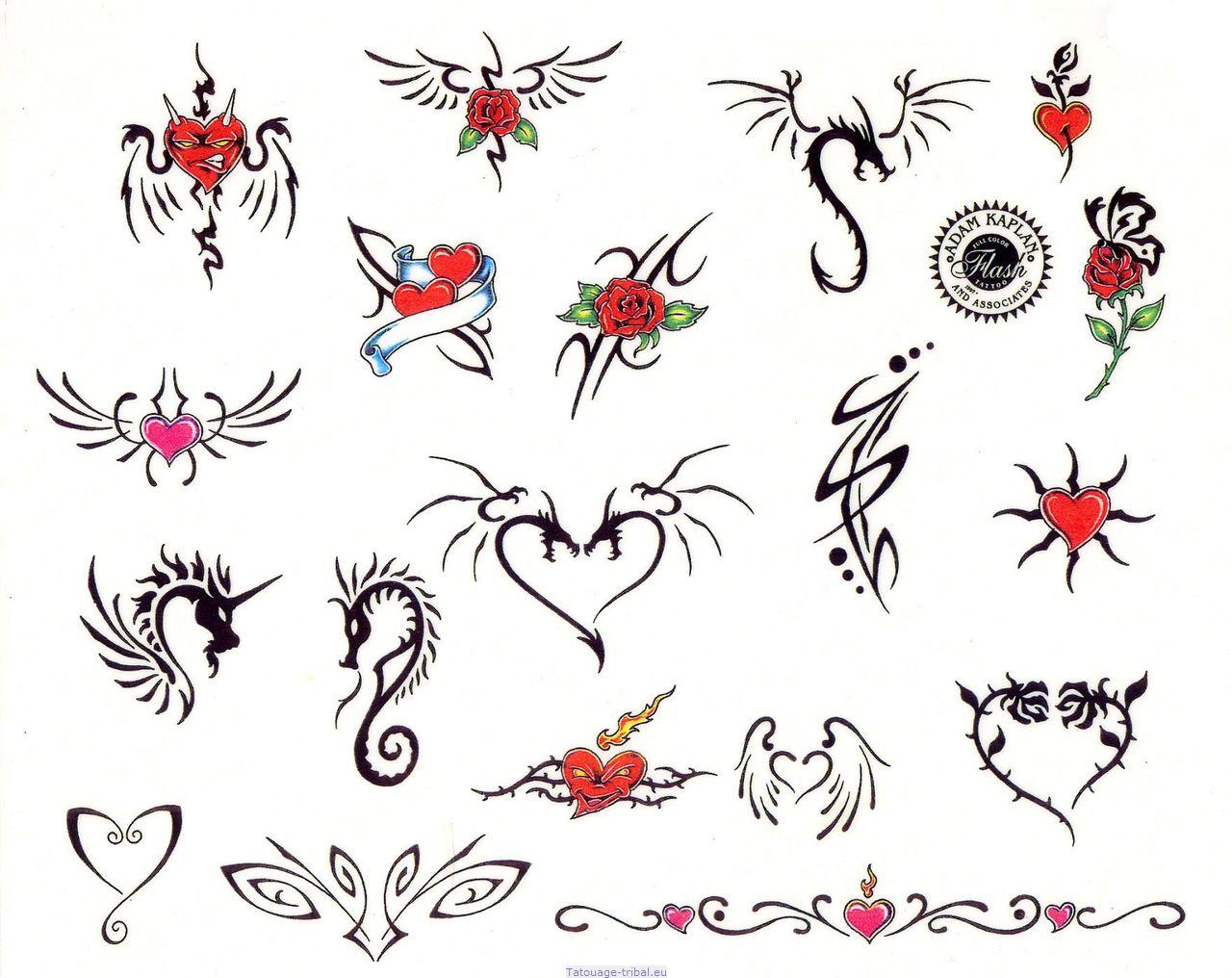 Image Tatouage Coeur