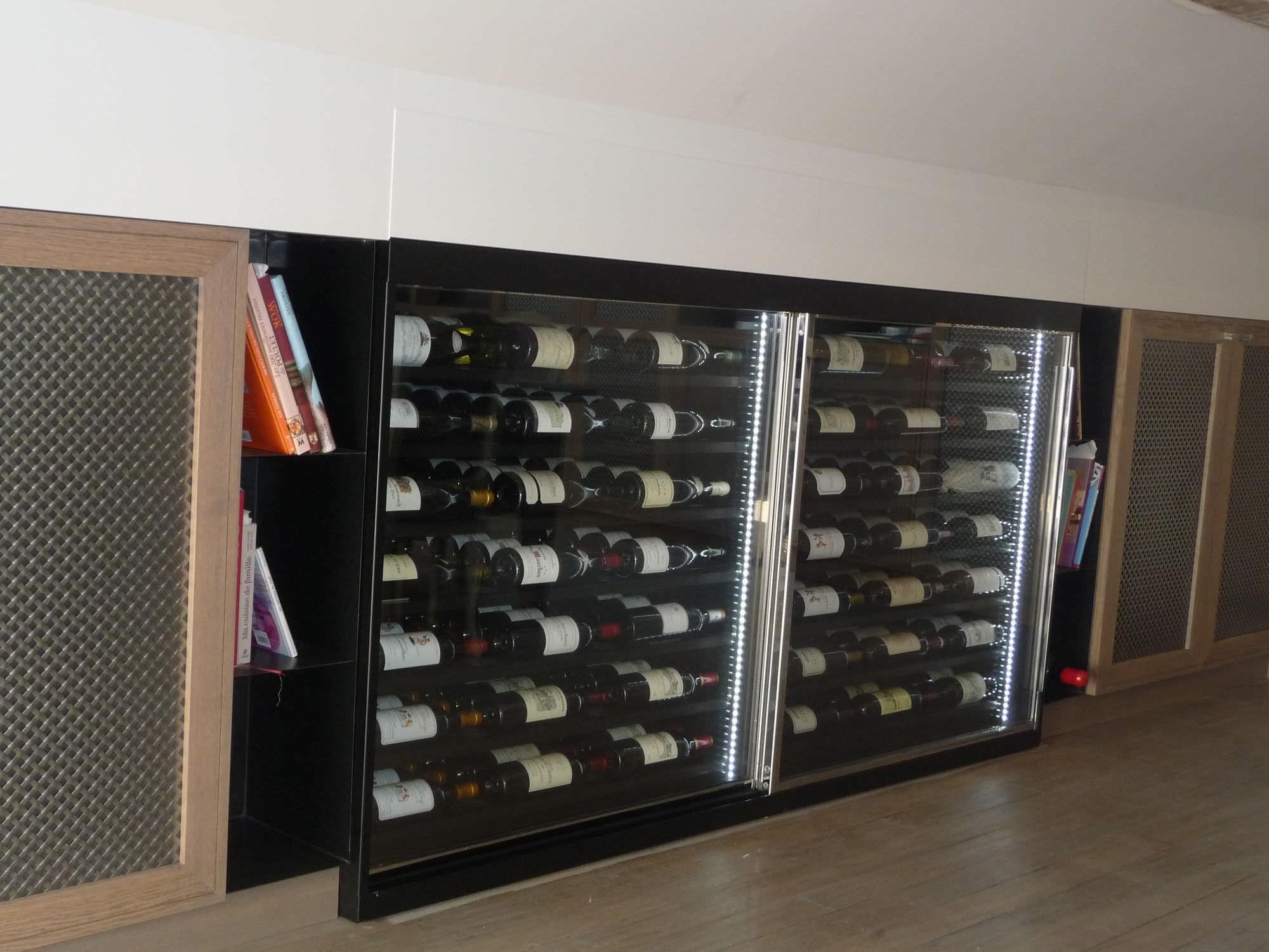 je m offre le luxe d une cave a vin. Black Bedroom Furniture Sets. Home Design Ideas