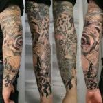 Modele tatouage bras homme