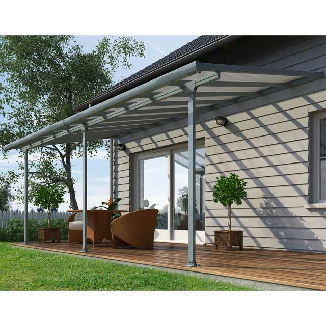 pergola aluminium castorama. Black Bedroom Furniture Sets. Home Design Ideas