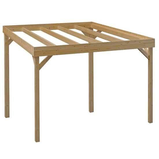 Pergola bois 3x3 for Abri de jardin bois pas cher leroy merlin 3 tonnelle de jardin 4 x 4