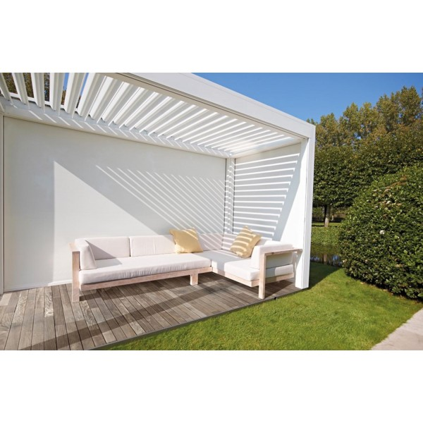 Pergola occasion for Couverture pergola canisse