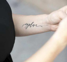 Petit tatouage homme discret