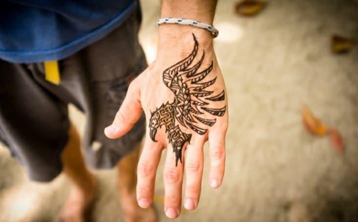 Henna Tattoo Für Jungs: Tatouage Henné Homme
