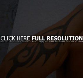 Tatouage homme simple