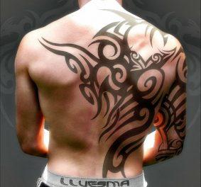 Tatouages dos homme