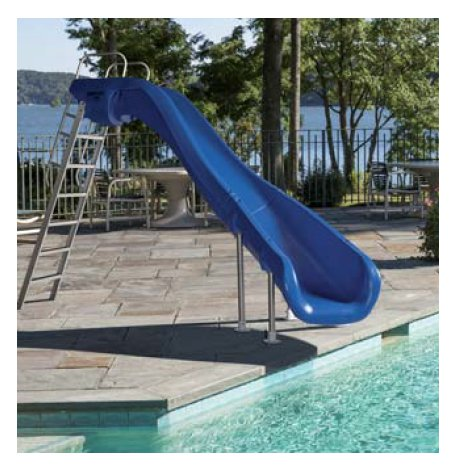Toboggan piscine occasion for Piscine en bois d occasion