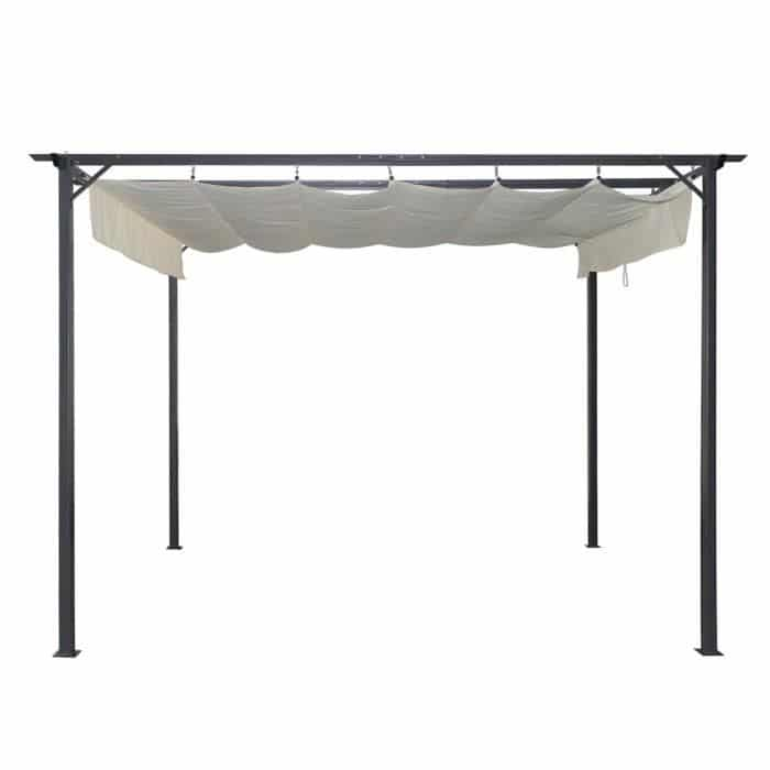 tonnelle retractable. Black Bedroom Furniture Sets. Home Design Ideas