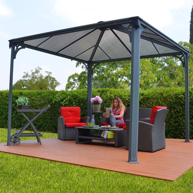 tonnelles jardin. Black Bedroom Furniture Sets. Home Design Ideas