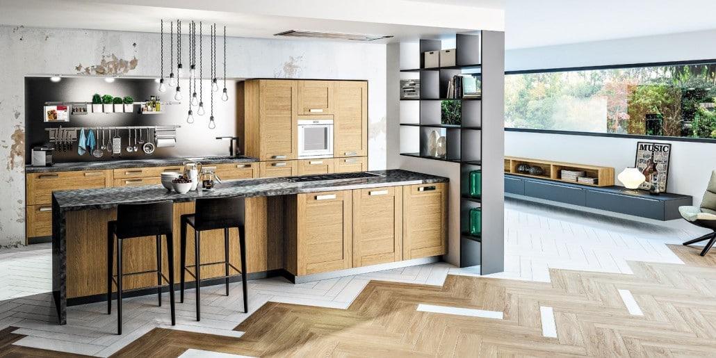 cuisine bois moderne
