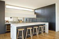 cuisine moderne bois clair