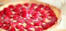 Tarte aux fraises rapide : pour un dîner en dernière minute, c'est l'idéal