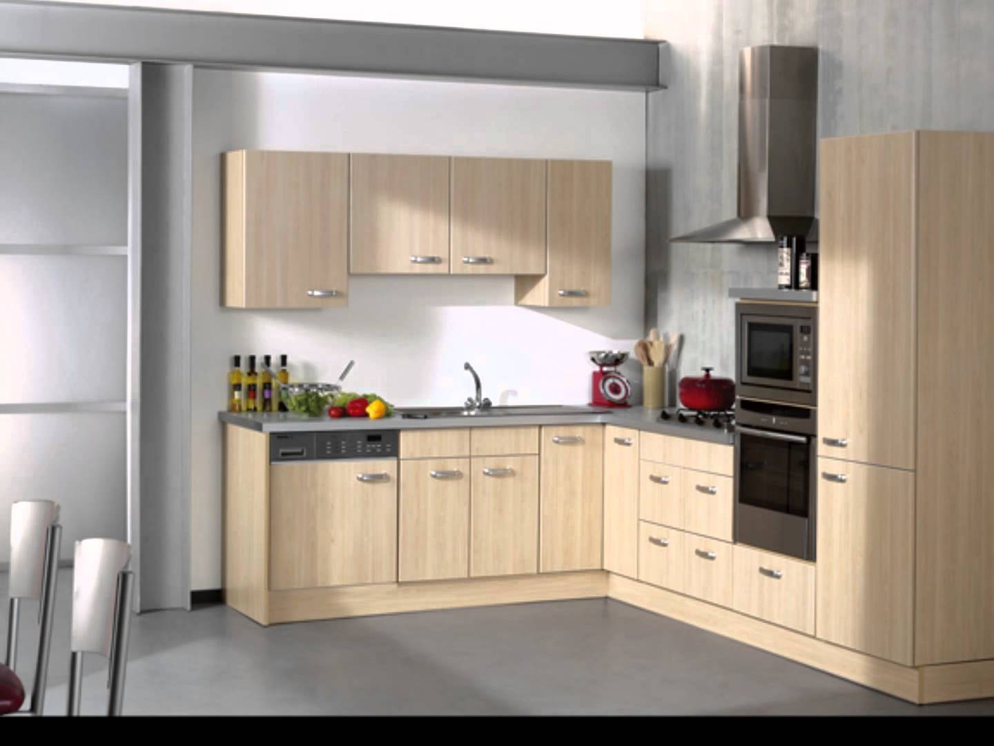 Model cuisine moderne for Decoration de cuisine moderne 2015