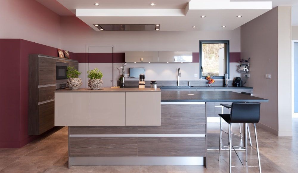 Mod le cuisine moderne for Modele cuisine 2016