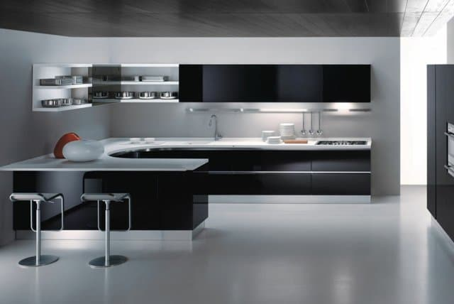 Mod les de cuisines modernes for Images des cuisines modernes