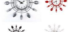 Pendule de cuisine moderne