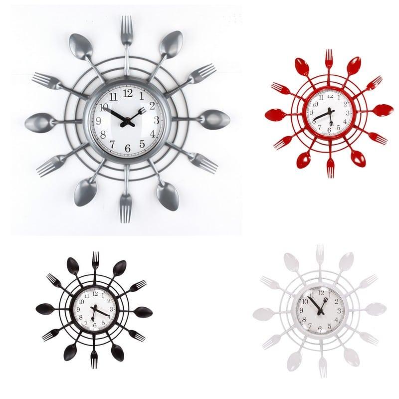 Pendule de cuisine moderne - Pendule pour cuisine ...
