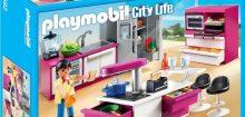 Playmobil cuisine moderne