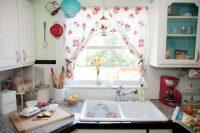 rideaux de cuisine moderne