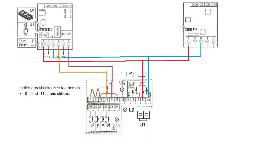 Schema Electrique Motorisation Portail Nice Aubonheurdesenfants