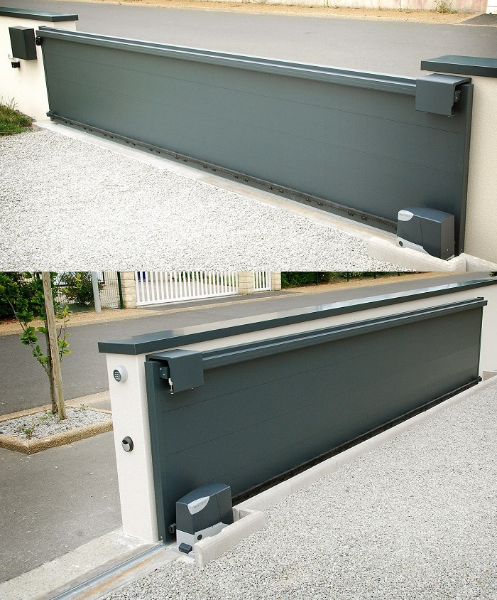 fabriquer portail coulissant 4m. Black Bedroom Furniture Sets. Home Design Ideas