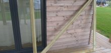 Fabriquer un portail en bois
