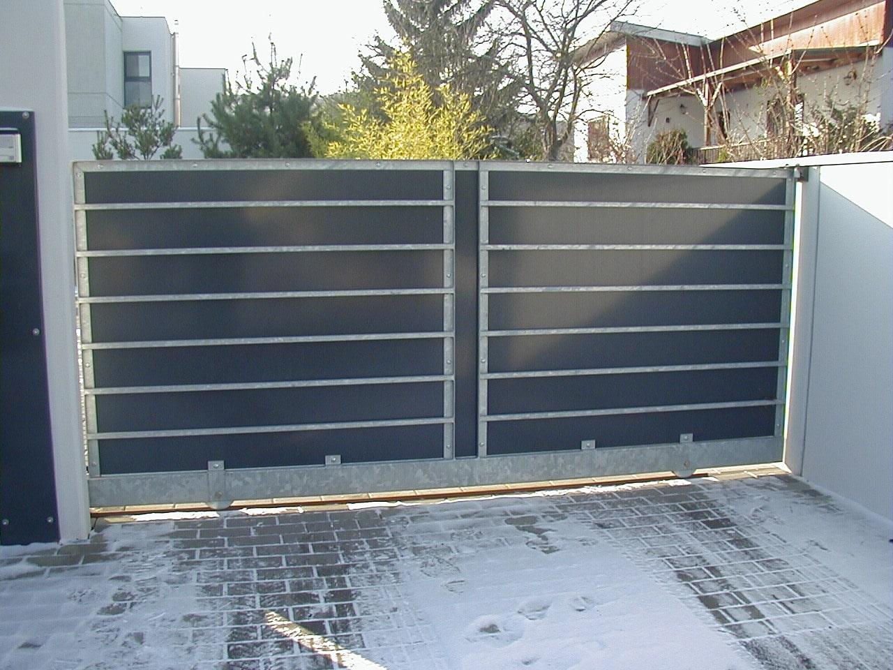 fabriquer un portail en fer
