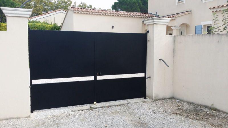 Plan de portail coulissant en fer for Portail electrique coulissant 3m