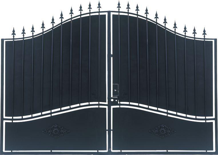 Vial portail fer for Numero de maison fer forge