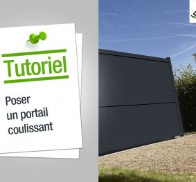 Video portail coulissant