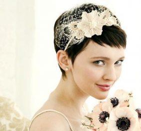 Accessoire coiffure mariage cheveux courts