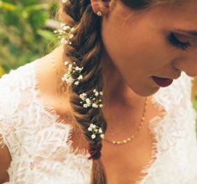 Coiffure ceremonie mariage