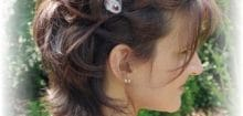 Coiffure cheveux courts pour mariage