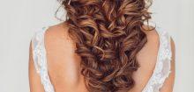 Coiffure cheveux détachés mariage