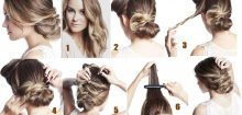 Coiffure cheveux long mariage facile