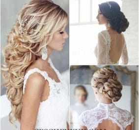 Coiffure glamour mariage