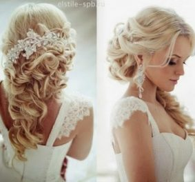 Coiffure mariage cheveu long