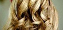 Coiffure mariage cheveux longs lachés bouclés