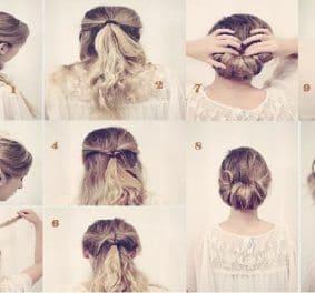 Coiffure mariage cheveux mi long facile a faire