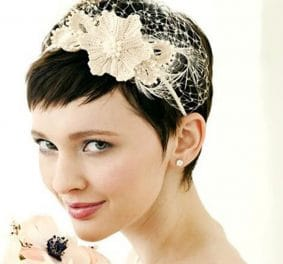 Coiffure mariage cheveux tres court