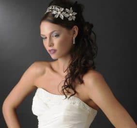 Coiffure mariage diademe