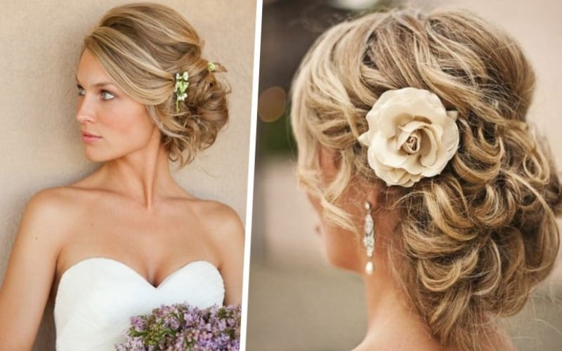 Coiffure Mariage Simple Et Chic